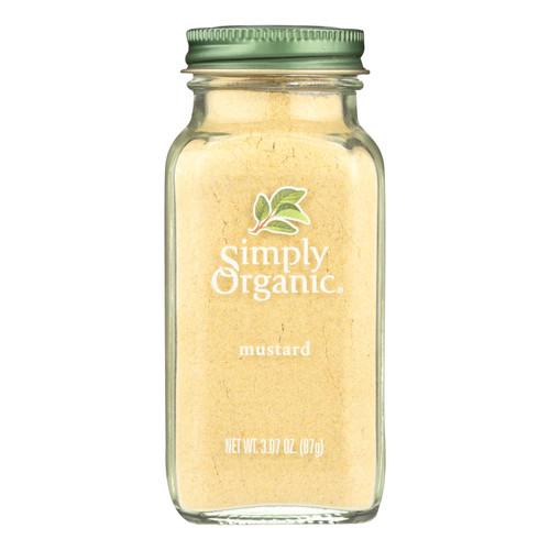 Simply Organic Mustard Seed - Organic - Ground - Yellow - 3.07 oz
