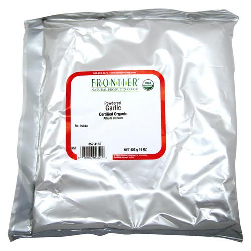 Frontier Herb Garlic - Organic - Powder - Bulk - 1 lb