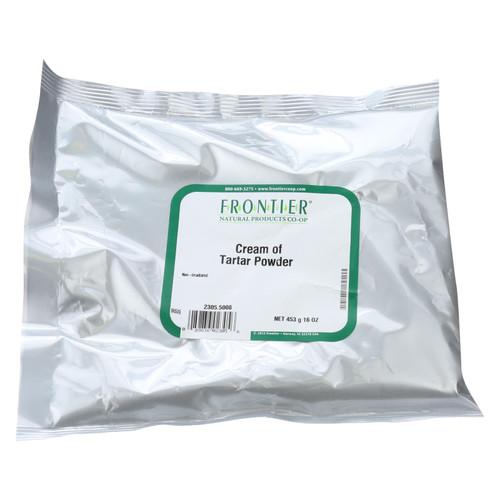 Frontier Herb Cream of Tartar Powder - Bulk - 1 lb