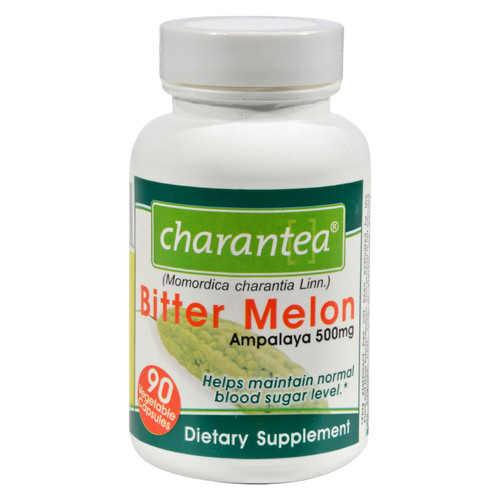 Charantea Bitter Melon - 500 mg - 90 Vegetarian Capsules on  Appalachian Organics