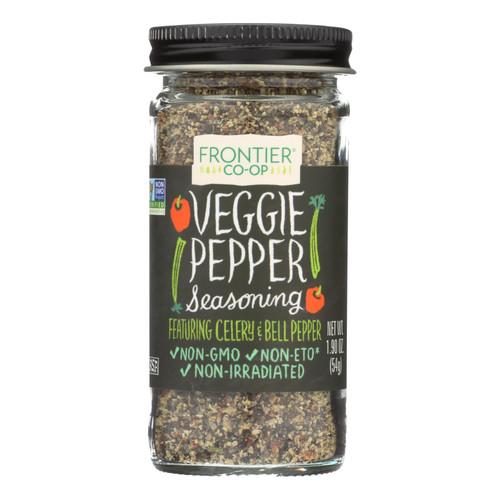 Frontier Herb Veggie Pepper Seasoning Blend - 1.90 oz
