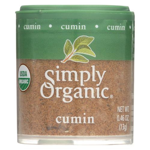Simply Organic Cumin Seed - Organic - Ground - .46 oz - Case of 6