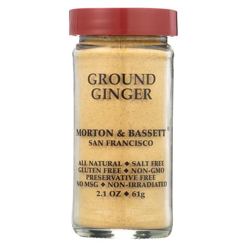 Morton & Bassett Ginger - Ground - 2.1 oz - Case of 3