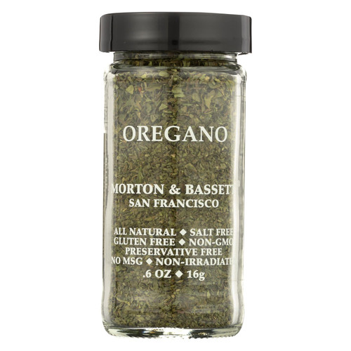 Morton & Bassett Oregano - .6 oz - Case of 3