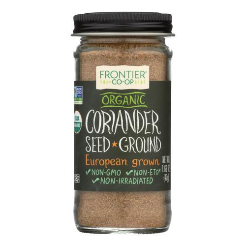 Frontier Herb Coriander Seed - Organic - Ground - 1.60 oz
