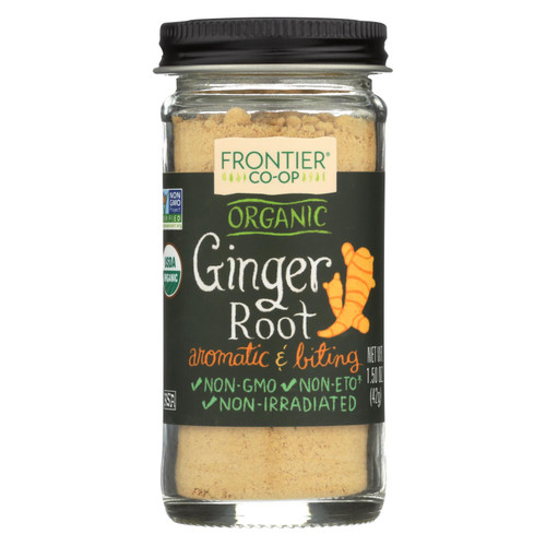 Frontier Herb Ginger Root - Organic - Ground - 1.5 oz