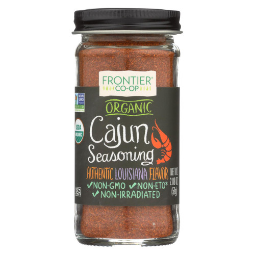 Frontier Herb Cajun Seasoning Blend - Organic - 2.08 oz