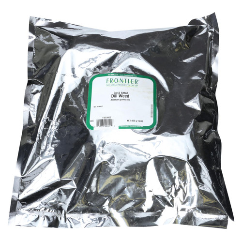 Frontier Herb Dill Weed - Cut and Sifted - Bulk - 1 lb