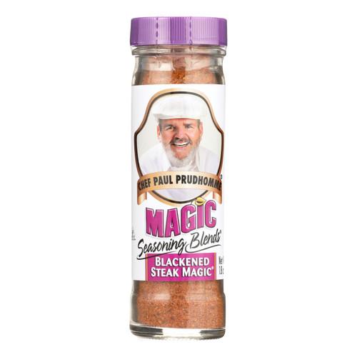 Magic Seasonings Chef Paul Prudhommes Magic Seasoning Blends - Blackened Steak Magic - 1.8 oz - Case of 6