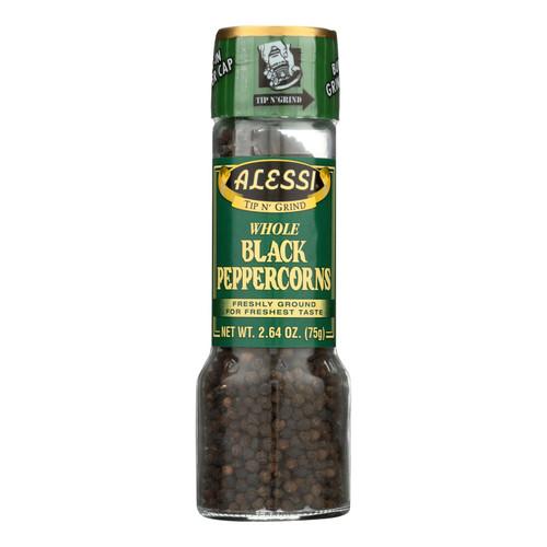 Alessi Grinder - Whole Black Peppercorns - Large - 2.64 oz