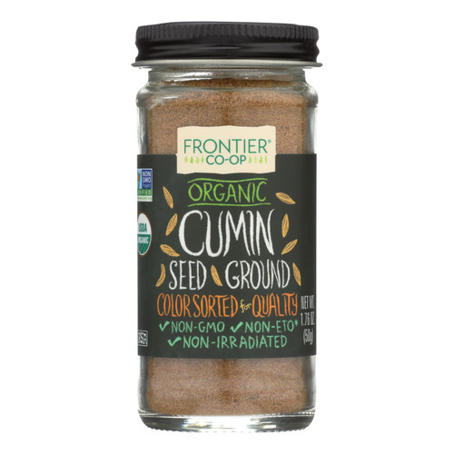 Frontier Herb Cumin Seed - Organic - Ground - 1.76 oz