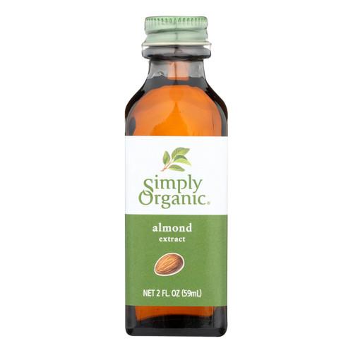 Simply Organic Almond Extract - Organic - 2 oz