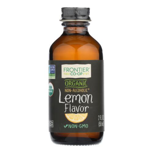 Frontier Herb Lemon Flavor - Organic - 2 oz