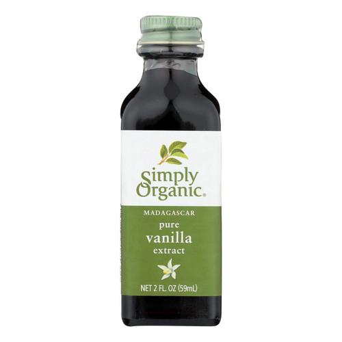 Simply Organic Vanilla Extract - Organic - 2 oz