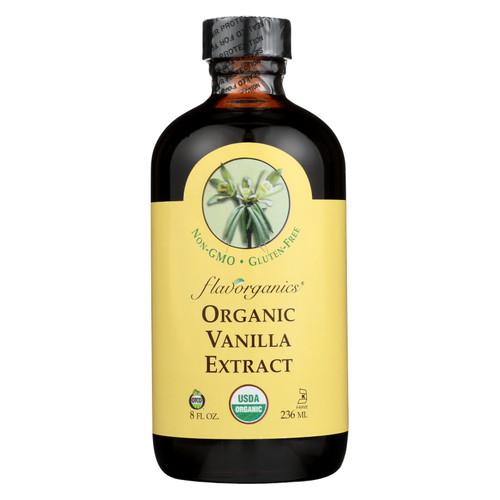 Flavorganics Organic Vanilla Extract - 8 oz