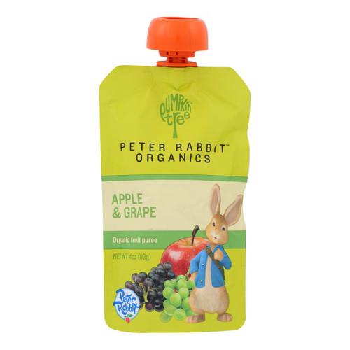 Peter Rabbit Organics Fruit Snacks - Apple and Grape - Case of 10 - 4 oz.
