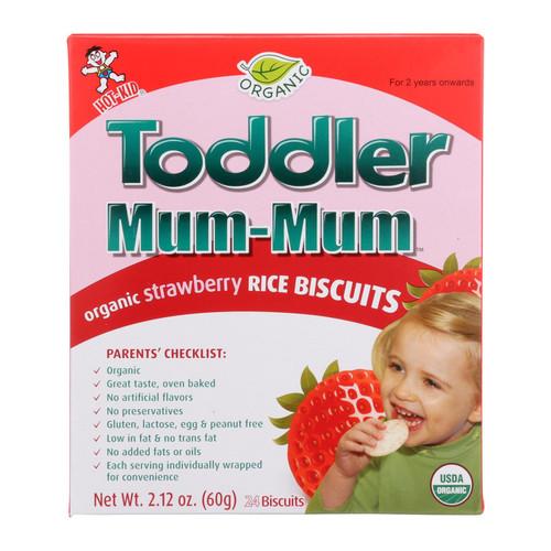 Hot Kid Toddler Mum - Strawberry - Case of 6 - 2.12 oz.