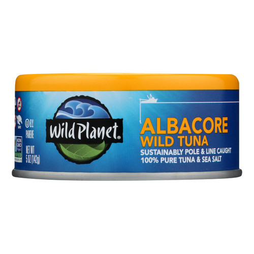 Wild Planet Albacore Tuna - Low Mercury - Case of 12 - 5 oz. on  Appalachian Organics