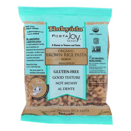 Tinkyada Organic Brown Rice Pasta - Elbows - Case of 12 - 12 oz