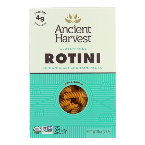 Ancient Harvest Organic Gluten Free Quinoa Supergrain Pasta - Rotelle - Case of 12 - 8 oz