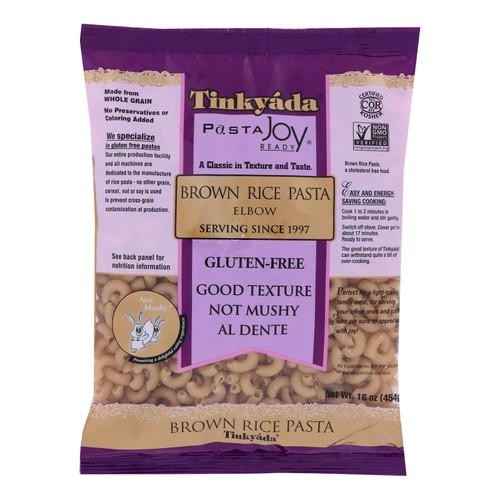 Tinkyada Brown Rice Elbows - Case of 12 - 16 oz