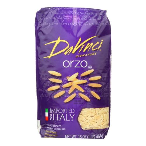 DaVinci - Orzo Pasta - Case of 12 - 1 lb. on  Appalachian Organics