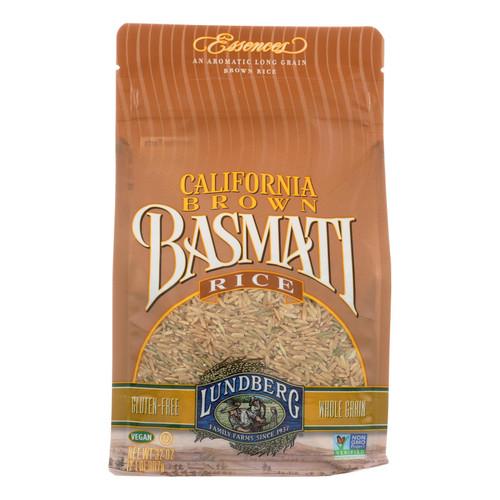 Lundberg Family Farms Organic Brown Basmati Rice - Case of 6 - 2 lb.