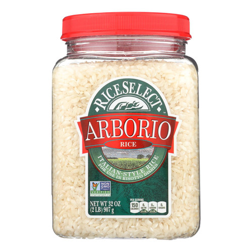 Rice Select Arborio Rice - Risotto - Case of 4 - 32 oz.