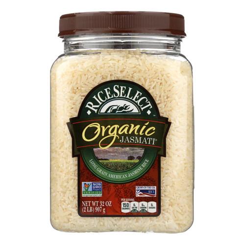 Rice Select Jasmati Rice - Organic - Case of 4 - 32 oz.