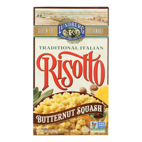 Lundberg Family Farms Butternut Squash Risotto - Case of 6 - 5.8 oz. on  Appalachian Organics