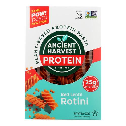 Ancient Harvest Pasta - Supergrain - Red Lentil and Quinoa Rotelle - Gluten Free - 8 oz - case of 6 on  Appalachian Organics