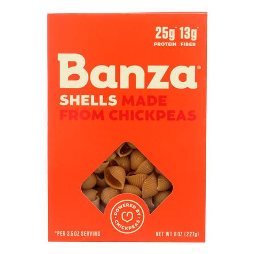 Banza - Pasta Chickpea Shells - Case of 6 - 8 oz.