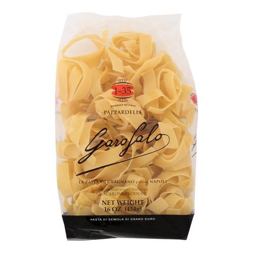 Garofalo Italian Pappardelle Pasta - Case of 12 - 16 oz.