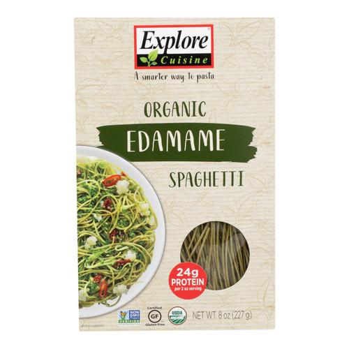 Explore Cuisine Organic Edamame Spaghetti - Edamame Spaghetti - Case of 6 - 8 oz.