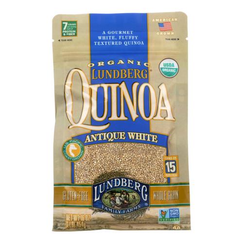 Lundberg Family Farms Organic California White Basmati Rice - Case of 6 - 1 lb.