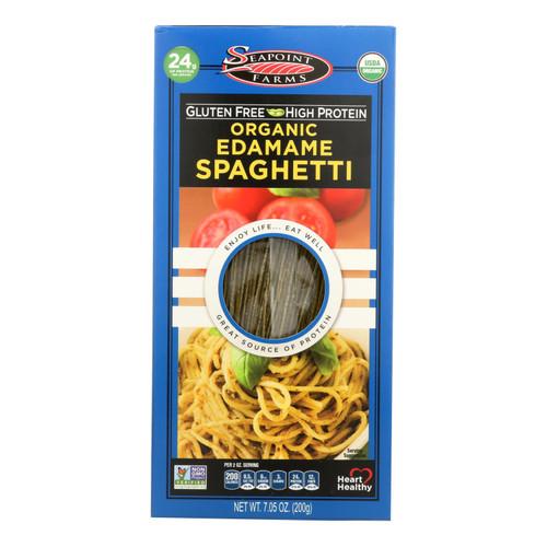 Seapoint Farms Edamame Spaghetti - Case of 12 - 7.5 oz.