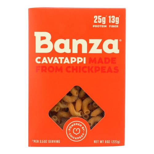 Banza - Chickpea Pasta - Cavatappi - Case of 6 - 8 oz.