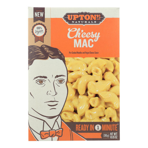Upton's Naturals Macaroni - Ch'Eesy - Case of 6 - 10.05 oz