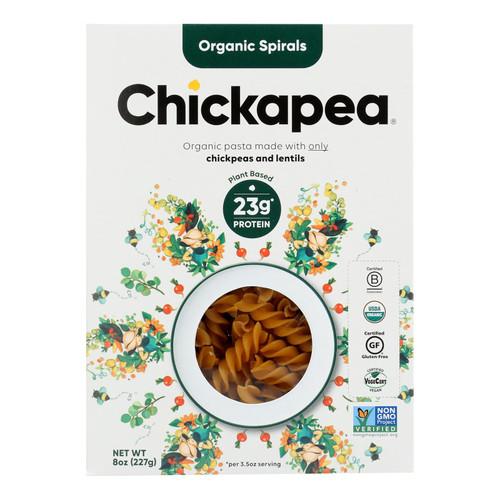 Chickapea Pasta - Pasta - Spirals - Case of 6 - 8 oz.