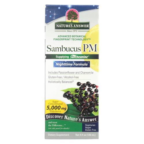 Nature's Answer Sambucus - PM Nighttime - 4 fl oz