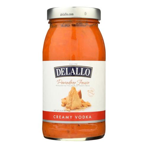 Delallo - Sauce - Fresco - Vodka - Case of 6 - 25.25 fl oz