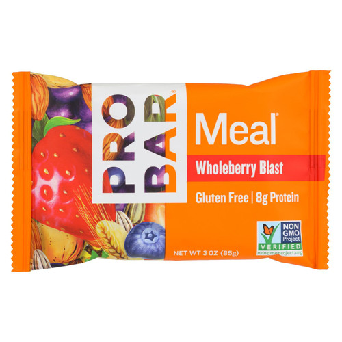 Probar Organic Whole Berry Blast Bar - Case of 12 - 3 oz