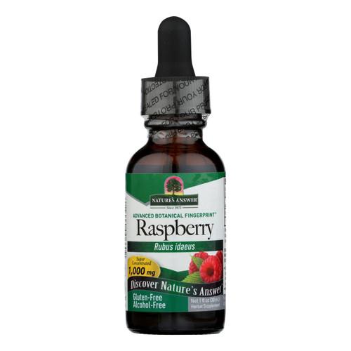 Nature's Answer - Raspberry Leaf Alcohol Free - 1 fl oz