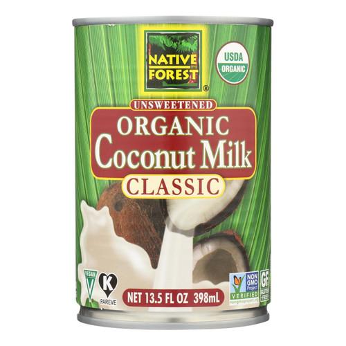 Native Forest Organic Classic - Coconut Milk - Case of 12 - 13.5 Fl oz.