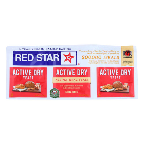 Red Star Yeast - Active Dry - .75 oz - Case of 18