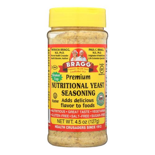 Bragg - Seasoning - Nutritional Yeast - Premium - 4.5 oz - case of 12