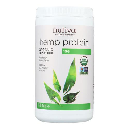 Nutiva Organic Hemp Protein - 16 oz