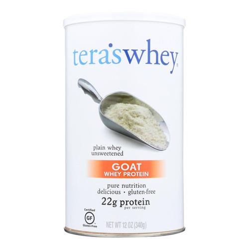 Tera's Whey Protein - Goat - Plain - Unsweetened - 12 oz