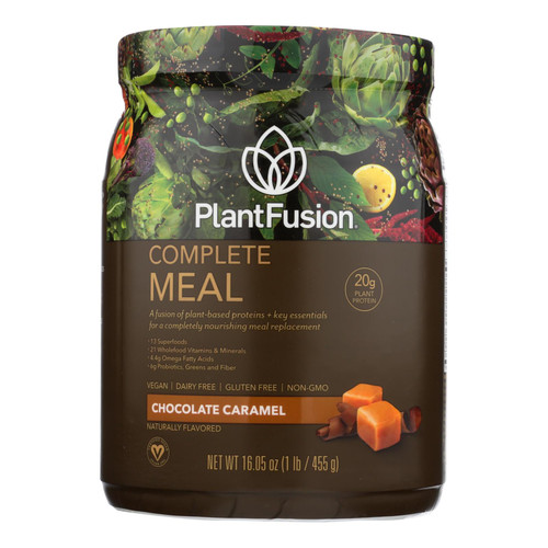 PlantFusion Phood Shake - Powder - Chocolate Caramel - 15.9 oz on  Appalachian Organics