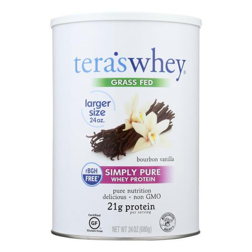 Tera's Whey Protein - rBGH Free - Bourbon Vanilla - 12 oz on  Appalachian Organics